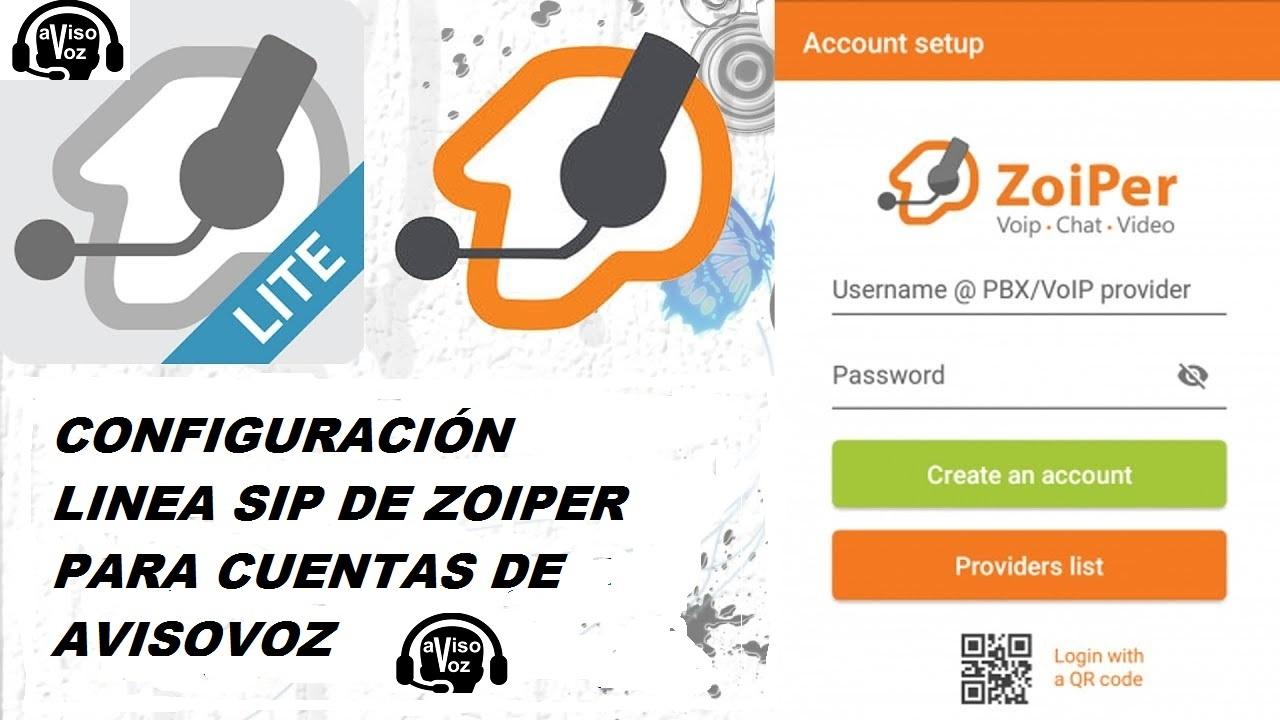 Zoiper es un software gratuito