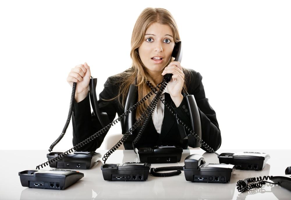 colapso gestion llamadas
