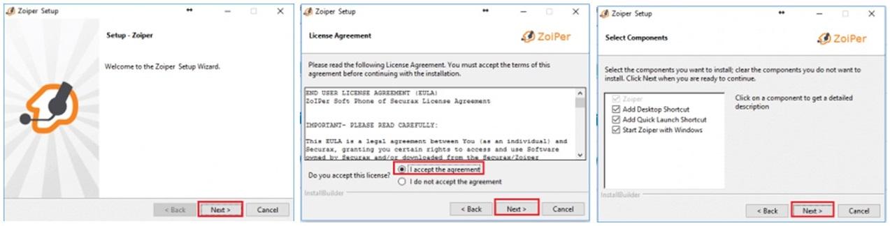 pc -configuracion zoiper primeros 3 pasos